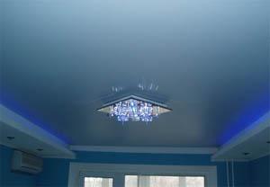 Фото: Глянцевый потолок