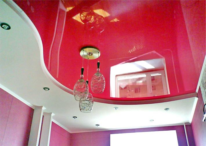 Фото: Натяжные потолки ПВХ