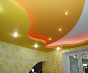 Фото: Точечные светильники для пластиковых потолков