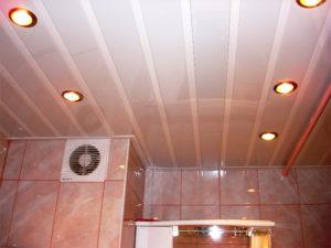 Фото: Освещение в ванной