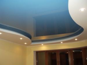 Бесшовный натяжной потолок ПВХ — безупречный дизайн интерьера своими руками