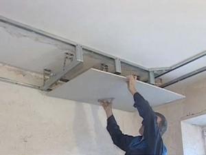 Фото: Как сделать потолок из гипсокартона?