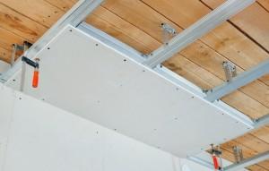 Фото: Изготовление потолков из гипсокартона
