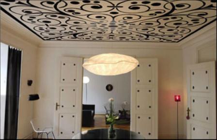 Фото: Тканевые натяжные потолки Clipso