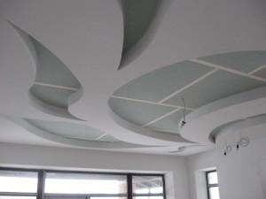 Фото: Потолки из гипсокартона по технологии Кнауф