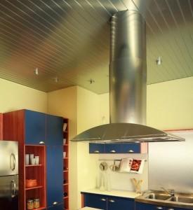 Фото: Установка вытяжки в кухне
