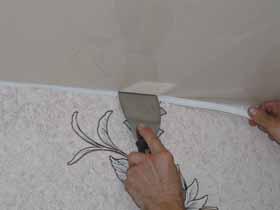 ПВХ-профиль для натяжных потолков — декоративное изделие