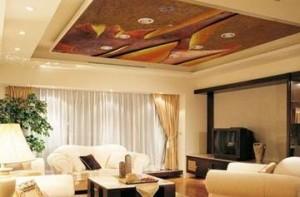 Фото: Стильный потолок