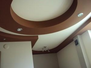 Фигурные потолки из гипсокартона — красивые покрытия своими руками