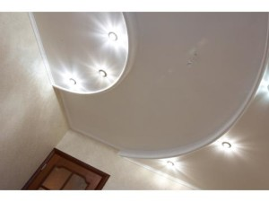 Двойные потолки из гипсокартона — практичное потолочное покрытие своими руками