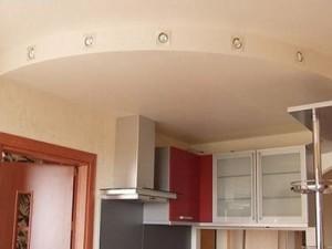 Потолки из гипсокартона на кухне — эстетичное потолочное покрытие своими руками