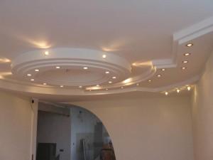 Многоуровневые потолки из гипсокартона: инструкция по монтажу с фото и видео
