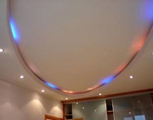 Овальные потолки из гипсокартона — необычное потолочное покрытие своими руками