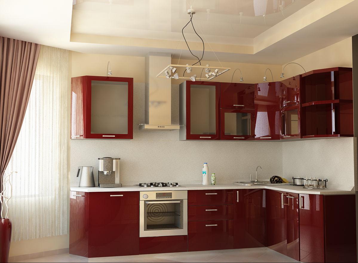 Натяжной потолок на кухню — комфортная атмосфера для настоящей хозяйки