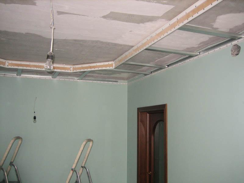 Ossature cachee plafond suspendu amiens devis chantier for Suspension faux plafond