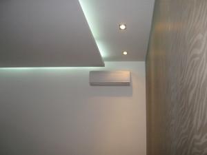 Фото: Прямоугольные потолки из гипсокартона