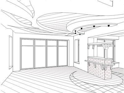 Проект потолка из гипсокартона — как подобрать правильный дизайн?