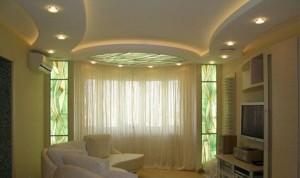 Фото: Конструкция с подсветкой