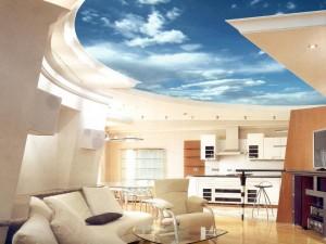 Фото: Поверхность в интерьере гостиной