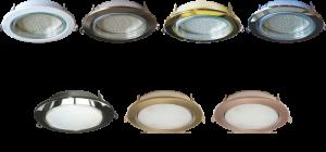 Фото: Светильники «Экола» для натяжных потолков