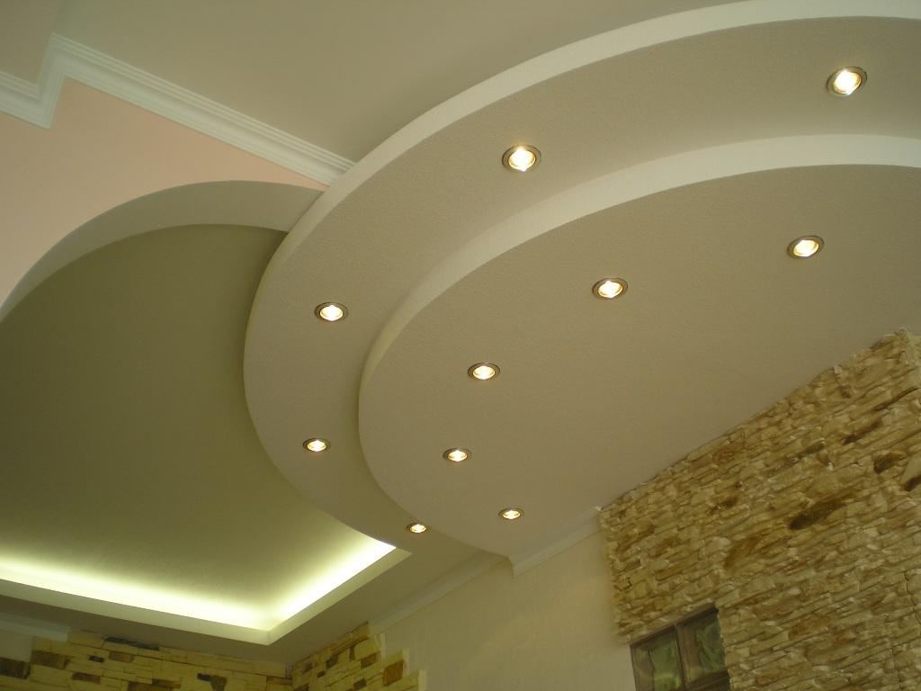 Фото: Многоярусный потолок