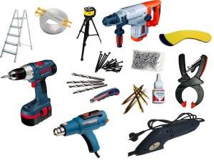 Фото: Инструменты для сборки конструкции