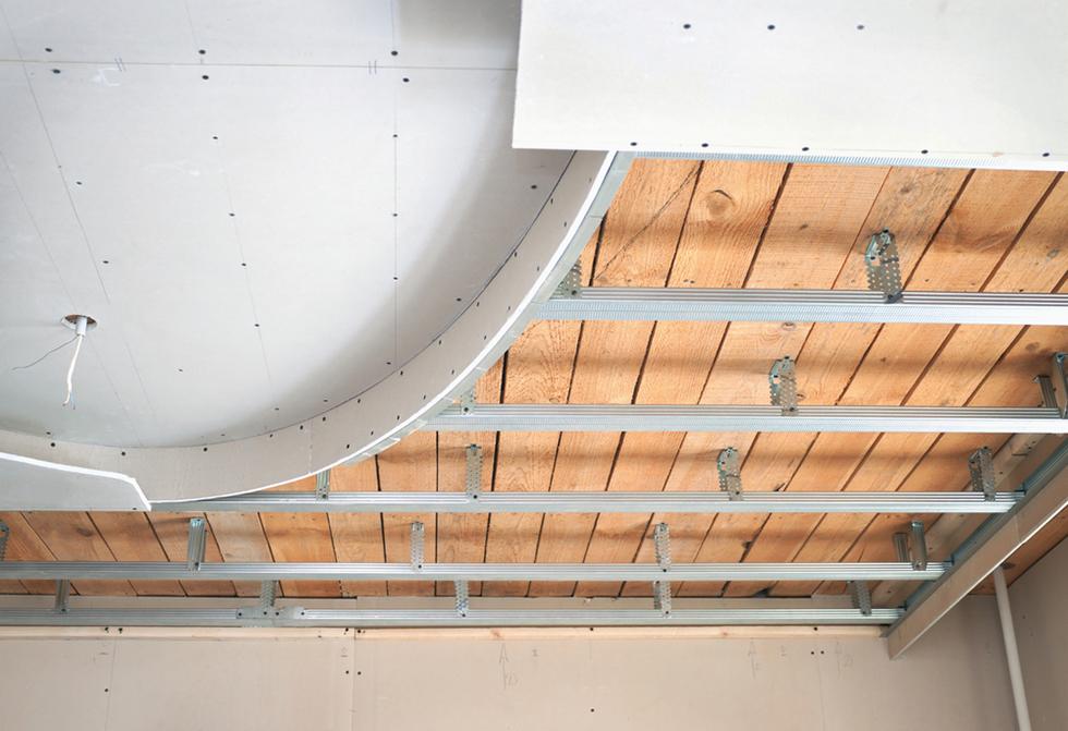 Двухуровневые потолки из гипсокартона своими руками фото