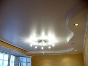 Фото: Подвесные потолки из гипсокартона