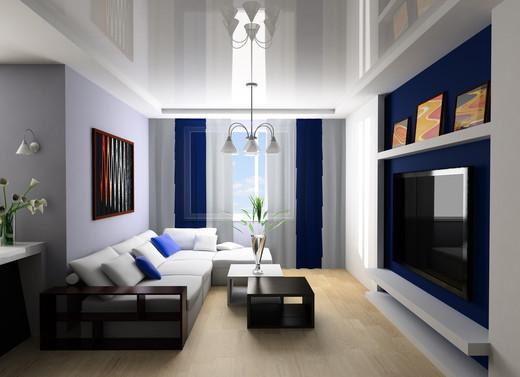 Белый натяжной потолок — создание чистоты и простора в помещении