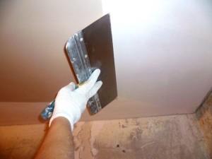Фото: Как шпаклевать потолок из гипсокартона?