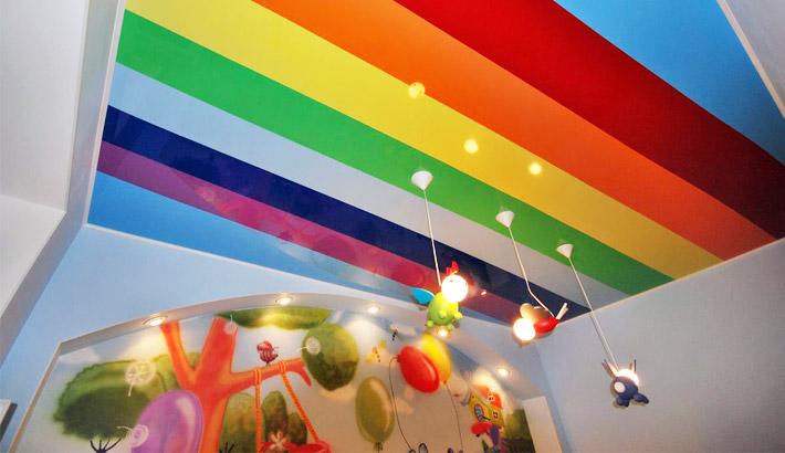 Фото: Многоцветное полотно