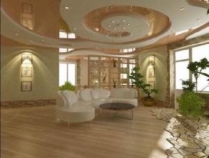Многоуровневые натяжные потолки — идеальный вариант обустройства дома своими руками