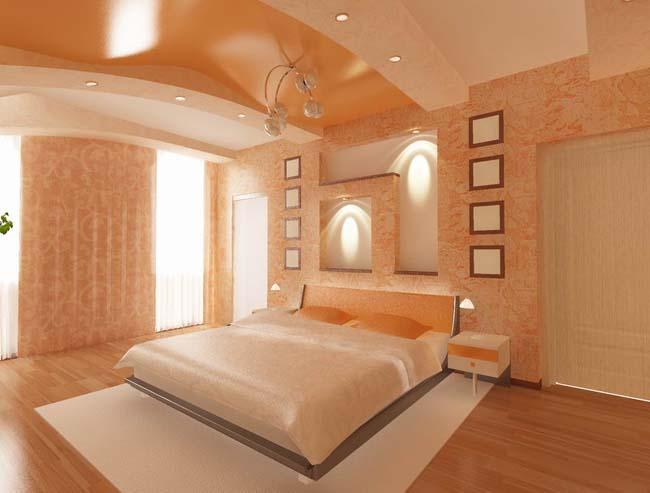 Фото: Персиковая спальня