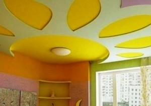 Фото: Готовый потолок