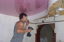 Установка двухуровневых натяжных потолков — популярный дизайн помещения своими руками