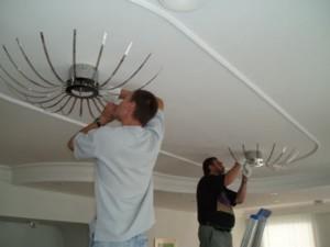 Фото: Демонтаж светильников