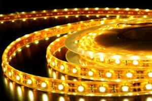 Фото: Диодная подсветка натяжного потолка или дюралайт
