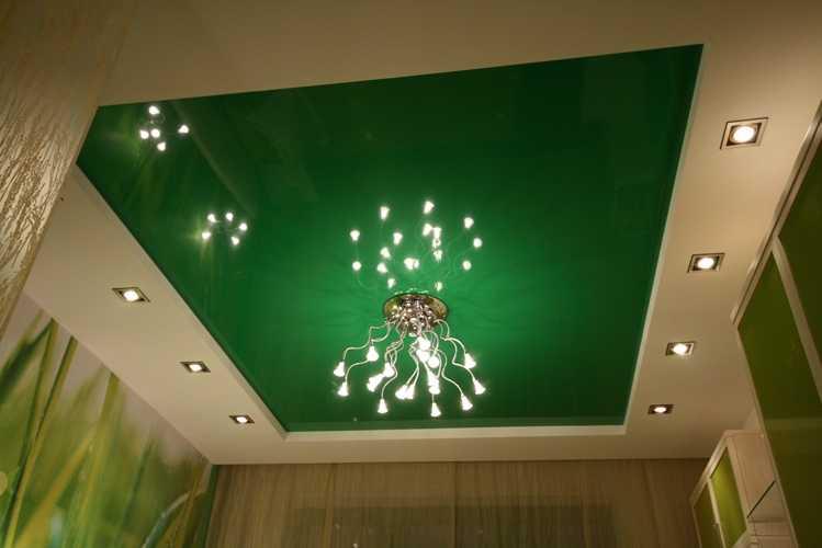 Фото: Один из зеленых оттенков