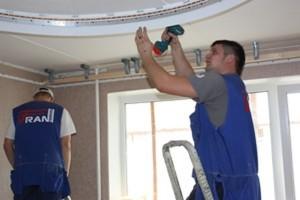 Как сделать двухуровневые натяжные потолки своими руками?