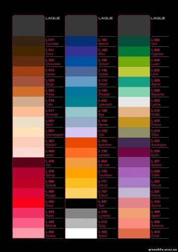 Фото: Какой цвет выбрать?