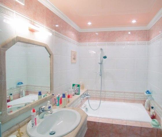 Фото: Отделка ванной
