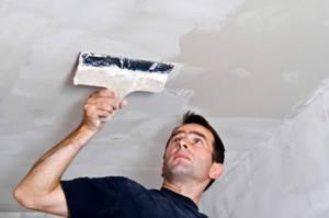 Как правильно штукатурить потолок из гипсокартона?