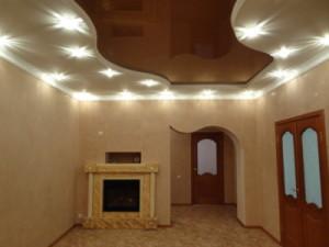 Фото: Потолок в классическом стиле