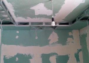 Закладные под натяжной потолок — как правильно установить?