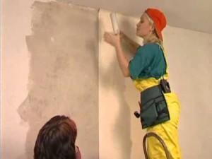 Фото: Выравнивание стен