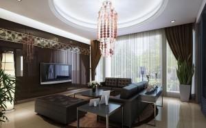 Потолки из гипсокартона в зале — создание уникального украшения поверхности своими руками