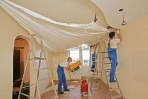 Как повесить натяжной потолок своими руками?