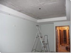 Kaj se je začelo izdelovati viseči strop ali lepilo ozadje