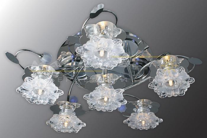 Люстры для натяжных потолков — креативное освещение помещения