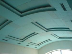 Арочные потолки из гипсокартона — создание шедевра своими руками